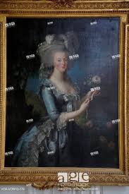 stock photo versaille painting marie antoinette wife of king louis xvi of france daughter of emperor francis i and maria theresa of austria portrait