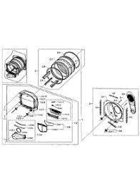 samsung dryer parts. control panel parts; drum assy parts for samsung dryer dv400ewhdwr/aa-0001 / from appliancepartspros.com