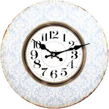 large vintage wall clocks shabby chic extra uk