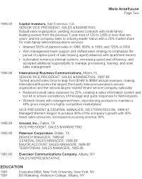 high tech resume