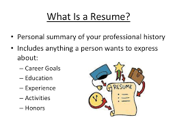 Sumptuous What Is A Resume 10 A Resume Is - Resume Example