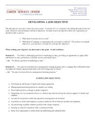 Occupational Goals Examples Resumes Best Of Occupational Goals