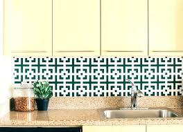 wallpaper that looks like tile best for kitchen raised backsplash