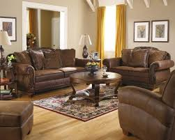 living room beautiful leather sofa set with round
