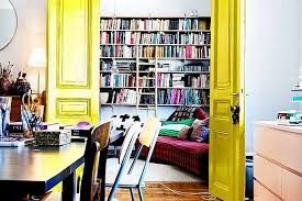 paint interior doorsAdd A Pop Of Color By Painting Interior Doors