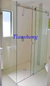 tempered glass sliding door interior frosted glass bathroom door