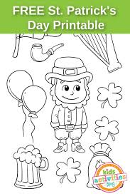 free st patrick s day printable