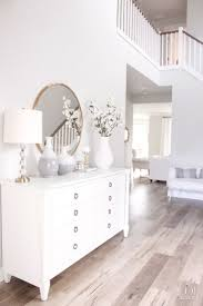 entryway table creating inviting impression at the first sight. Bright White Entry - Coastal Glam Style Entryway Table Creating Inviting Impression At The First Sight N