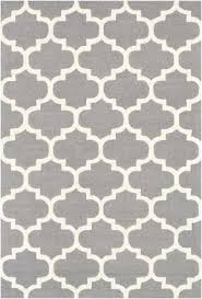 gray and white area rug abstract waves black target mercury row