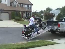 Amazon.com: Aluminum Ramp 8 ft. USA - Motorcycles Onto Pick-up ...