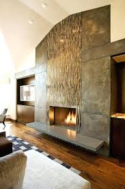 ... Fireplace Wall Glass Tile Design Ideas Tiles Surround ...