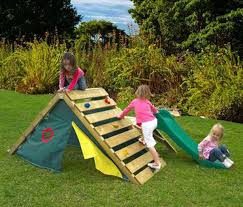 11 create an outdoor tent with a safe climbing wall on top