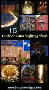 outdoor patio lighting ideas pictures. 15 Outdoor Patio Lighting Ideas You\u0027ll Love! Pictures