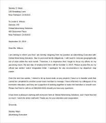 How To Write 2 Week Notice Free Two Weeks Notice Resignation Letter Samples How To