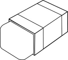eraser clipart black and white. Delighful Clipart Eraser Clip Art For Clipart Black And White E