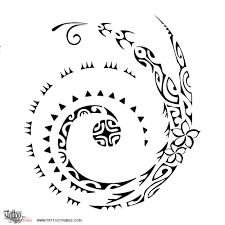 Tatuaggio Di Koru E Soleluna Tutto è Possibile Tattoo Custom