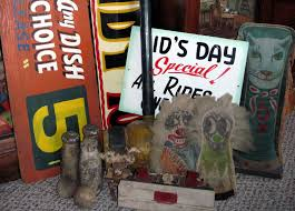 Wooden Carnival Games Tracy's Toys and Some Other Stuff Antique Carnival Items Signs 92