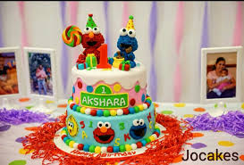 Elmo First Birthday Cake Ideas