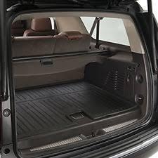 2018 gmc yukon interior. unique 2018 20152018 gmc yukon xl genuine gm all weather rear cargo mat black 22823336 for 2018 gmc yukon interior