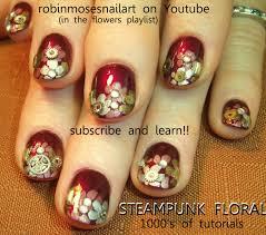 Robin Moses Nail Art: steampunk nail art, steam punk nail, robin ...
