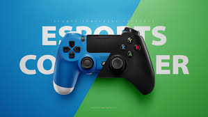 Xbox 360 Controller Designs Template Playstation 4 Xbox One Controller Psd Mockup Template On