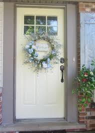 pretty white front door. Breathtaking Decoration For Your House Using White Entry Door : Beautiful  Ideas Pretty White Front Door