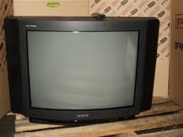 sony tv trinitron. sony trinitron crt 26` color television, sony tv c