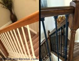 replace stair railing. Cost To Install Stair Railing And Balusters Replacing Rails Stunning Wrought Iron Replace