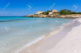 beach es trenc beautiful coast of mallorca spain stock photo 82810251