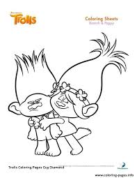 Trolls Printable Coloring Pages Inspirational Trolls Coloring Pages