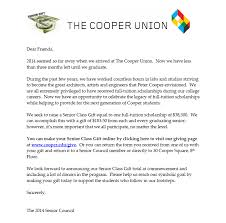 Support Cooper | The Cooper Union - Senior Gift 2014
