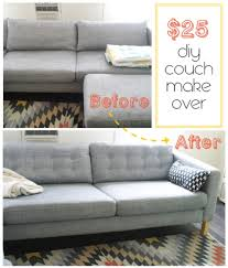diy furniture makeovers. 67 Furniture Makeovers That\u0027ll Totally Inspire You: Couch Makeover Via Jupe Du Jour Diy