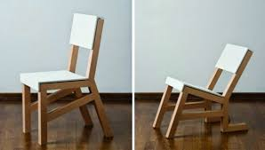 creative wooden furniture. The Chair Folds Of Fabric Cement Creative Wooden Furniture