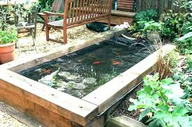 perfect above ground pond ideas tips to build beautiful fish pond backyard landscaping