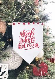christmas ornament banner. Simple Christmas Minifabricbannerornament For Christmas Ornament Banner V