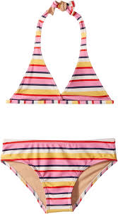 Toobydoo Size Chart Details About Toobydoo New Girls Pink Yellow Size 12 Striped Bikini Set Swimwear 39 545