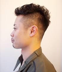 メンズショート ソフトモヒカンの髪型 Stylistd