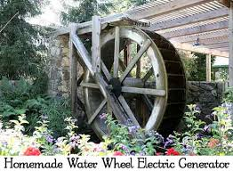 homemade electric generator. Homemade Water Wheel Electric Generator. Walt Stoneburner Via Flickr Generator T