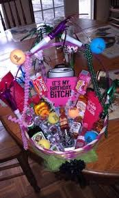 21st birthday basket i want this i love it someone make this for me next