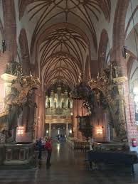 Stockholm Cathedral: Beautiful arched ceiling