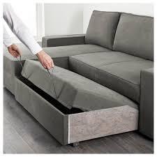 sleeper sofa ikea. VILASUND Sofa Bed With Chaise Longue Borred Grey Green IKEA Sleeper Sofa Ikea