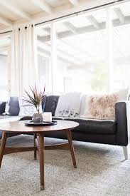 Light Colored Living Rooms Living Room Update Spring Decor Hej Doll Travel Blogger