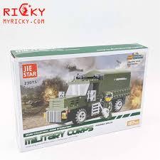 Bộ LEGO lắp ráp xe tải quân sự 277 miếng - Lego lắp ráp chiến tranh thế  giới thứ 2