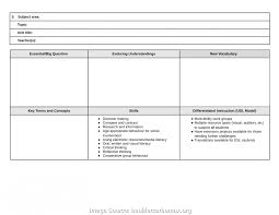 Complex Blank Unit Lesson Plan Template Free Daily Lesson Plan ...