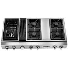 gas cooktop with downdraft. Jenn-AirPro-Style\u0026#174; Modular Gas Downdraft Rangetop, 48\u0026quot; JGD8348CDP Cooktop With S