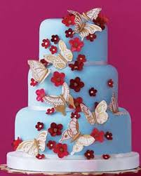 Amazing Butterfly Wedding Cake Designs