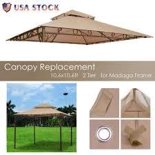 10 6ft 2 tier tent gazebo top canopy