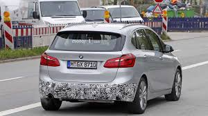 2018 bmw active tourer. perfect 2018 bmw 2 series active tourer facelift spied and 2018