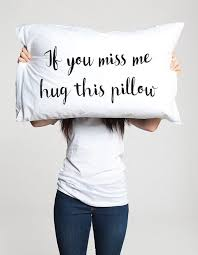 long distance love pillow romantic gifts for couples