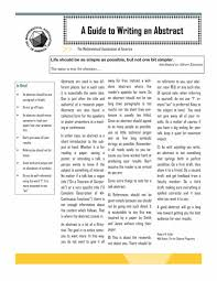 research paper abstract example sample template hubpages how to write a paper abstract
